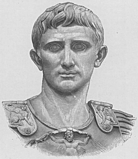 Auguste premier empereur Romain